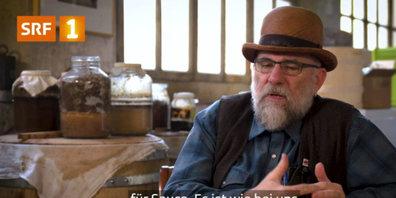 Patrick Marxer erzählt im Film von seiner Leidenschaft.