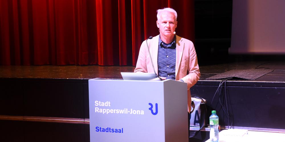 Rainer Gilg,  externer Projektleiter.
