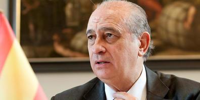 ARCHIV - Der spanische Innenminister Jorge Fern·ndez DÌaz nimmt am G6-Innenministertreffen teil. Foto: picture alliance / dpa