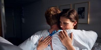 Ab nächster Woche können Angehörige im Spital nicht mehr besucht werden.