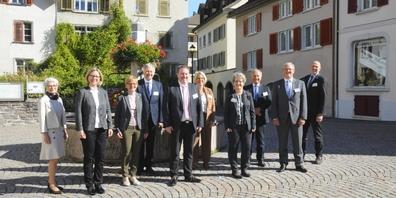 Die IPBK-Präsidentinnen und Präsidenten anlässlich der traditionellen Herbstkonferenz.