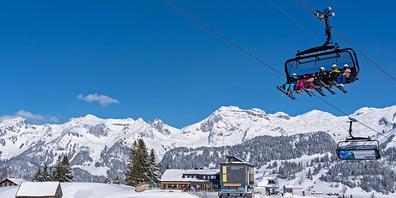 Die neue Familienbahn der Bergbahnen Wildhaus transportierte im ersten Betriebsjahr über 400'000 Schneesportlerinnen und -sportler.