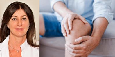 Lucia Pangratz zeigt sowohl schulmedizinische als auch naturheilkundliche Behandlungsmöglichkeiten für Arthrose auf.