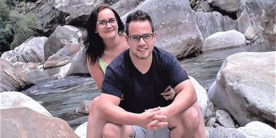 Wenn eine Diagnose alles verändert: Seit Ursina Bernath an Amyotropher Lateralsklerose (ALS) erkrankt ist, gehören Ausflüge und Reisen der Vergangenheit an. Hier war sie noch gemeinsam mit ihrem Mann Patrik Bernath im Verzascatal.