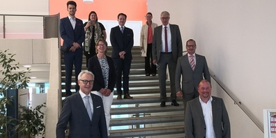 Gemeinderat Speicher empfängt Ausserrhoder Regierungsrat