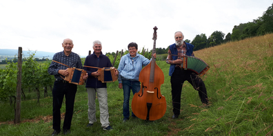 Das Schwyzerörgeliquartett spielt am 11. September in der ReiatBadi.