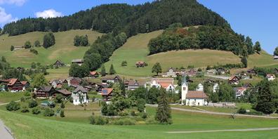 Die Kosten werden vollumfänglich vom Kanton getragen. Im Bild das Dorf Krinau.