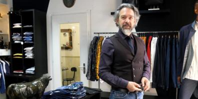 Ladeninhaber Mario Romano: «Männer setzen ihre Akzente anders»