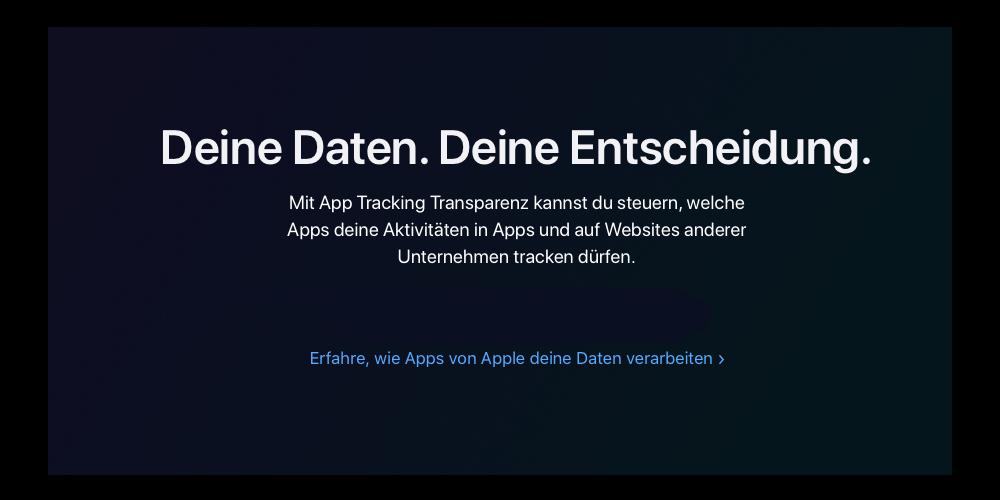 Apple ist der Schutz der Daten ihrer Kunden wichtig.