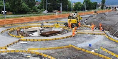 Der Bau der 1,3 Kilometer langen Stichstrasse kostete 19,4 Millionen Franken.