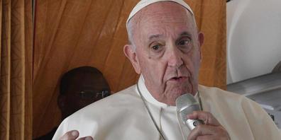 Papst Franziskus hat sich zur Aufarbeitung der Missbrauchsskandale in der katholischen Kirche geäußert. Foto: Tiziana Fabi/POOL AFP/AP/dpa