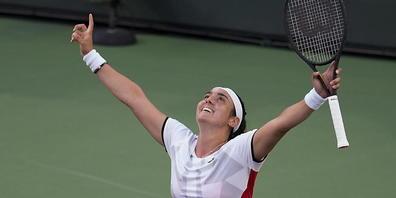Geschichtsträchtiger Erfolg: Ons Jabeur steht in Indian Wells im Halbfinal