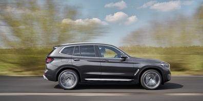 Der neue BMW X3 - sportlich unterwegs.