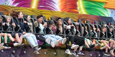 Der «Wirbelsturm» machte den Jugendlichen viel Spass