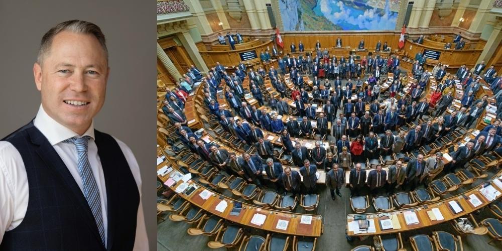 Dr. Philipp Gut zur Zertifikatspflicht: «Bei den Parlamentariern gelten plötzlich die 'verfassungsmässigen Rechte' wieder.»