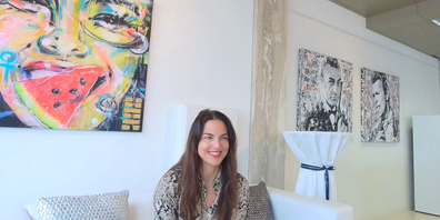 Daniela Filippelli gehört zur Avantgarde in der bahnbrechenden Kryptokunst.