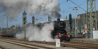 Die letzte Dampfzugfahrt in diesem Jahr steht an.